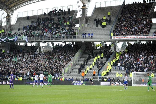 L'ASSE a acheté... les 600 places refusées par ses supporters