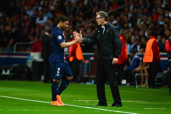 Le PSG officialise le forfait de Thiago Silva contre le Barça