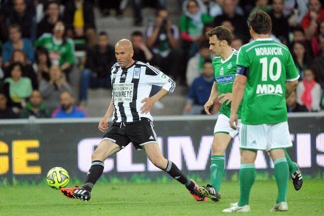 Zidane, Ronaldo, une pluie de buts, c'était la fête à Sainté