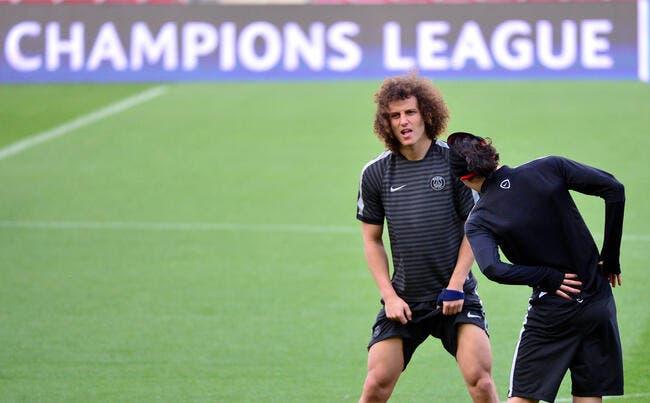 David Luiz dopé par les moqueries, le PSG y croit