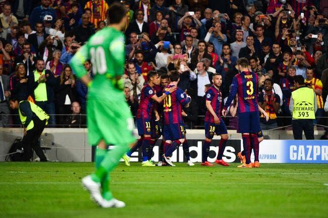 Le PSG n'a rien à redire, le Barça était sur une autre planète