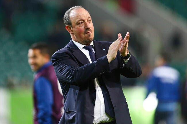 Le PSG peut compter sur Rafael Benitez, au cas où…