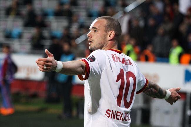 Sneijder, la nouvelle cible du PSG