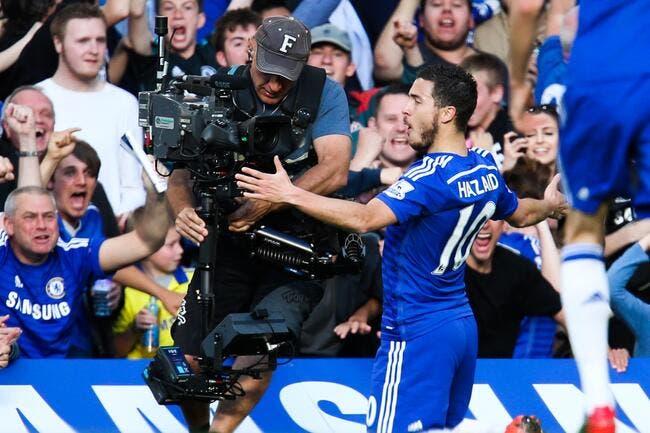 Eden Hazard élu joueur de l'année en Premier League