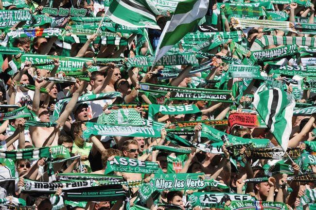 Les supporters de l'ASSE interdits à Bastia