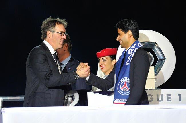 Laurent Blanc et Leonardo, le boss du PSG tranche officiellement