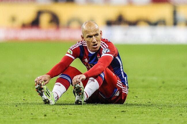 Le Bayern Munich sans Robben jusqu'à la fin de la saison