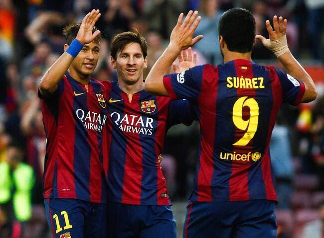 MSN supprime Messi-Henry-Eto'o des tablettes du Barça