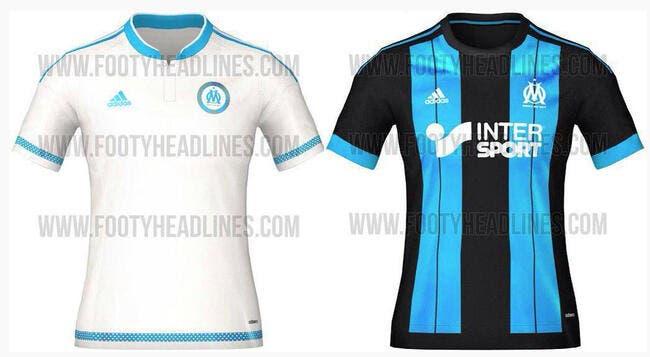 Les nouveaux maillots de l'OM 2015-2016 dévoilés ?