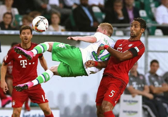 Wolfsburg surprend le Bayern en SuperCoupe d'Allemagne