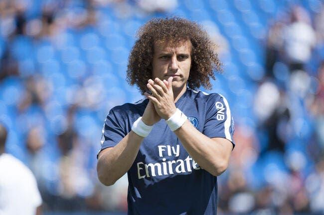 Pour l'après-PSG, David Luiz a déjà une piste