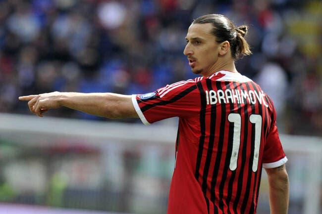 Le Milan AC se voit déjà jouer le Scudetto avec Ibrahimovic