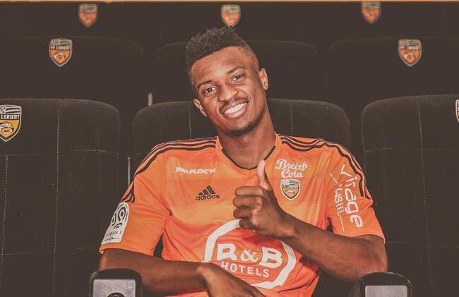 Officiel : Moukandjo signe à Lorient