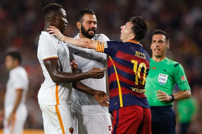 L'homme qui a énervé Messi à l'OL ? Un petit indice de plus