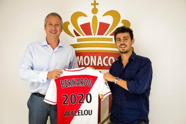Bernardo Silva prolonge jusqu'en 2020 à Monaco