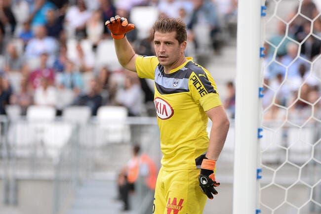 Carrasso a joué Bordeaux-Reims avec une entorse de la cheville