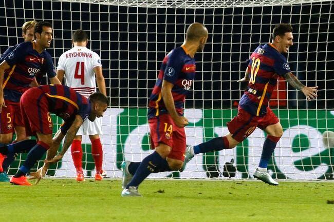 Le Barça remporte une ahurissante SuperCoupe d'Europe