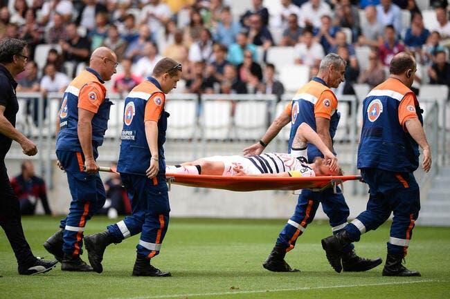 Rupture des ligaments croisés pour Grégory Sertic !