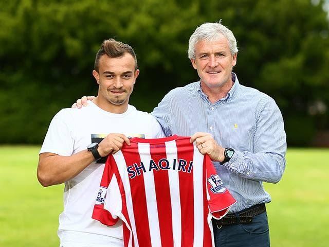Shaqiri signe à Stoke City