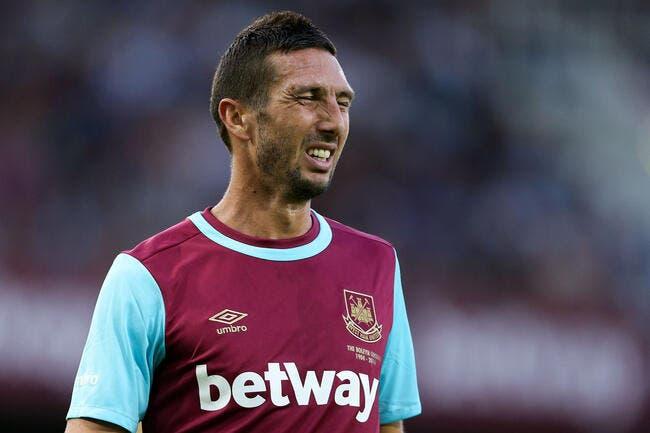 Amalfitano éjecté par West Ham pour son attitude ?