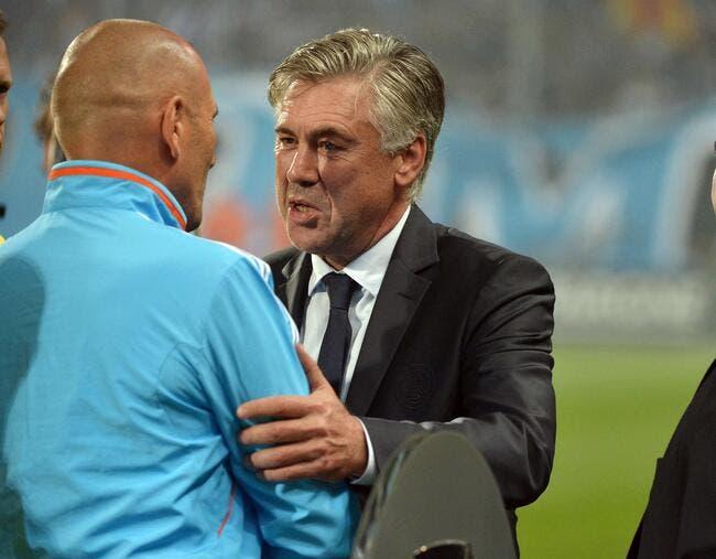Ancelotti à l'OM ? Le Mister dit non merci