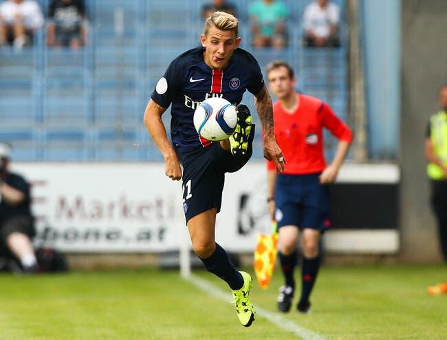 Lucas Digne présenté vendredi par l'AS Rome