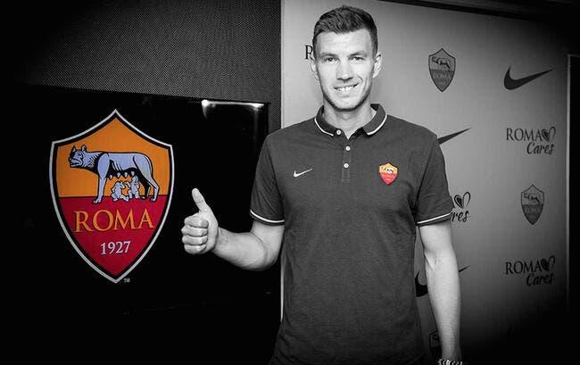 Officiel : Dzeko prêté à l'AS Rome