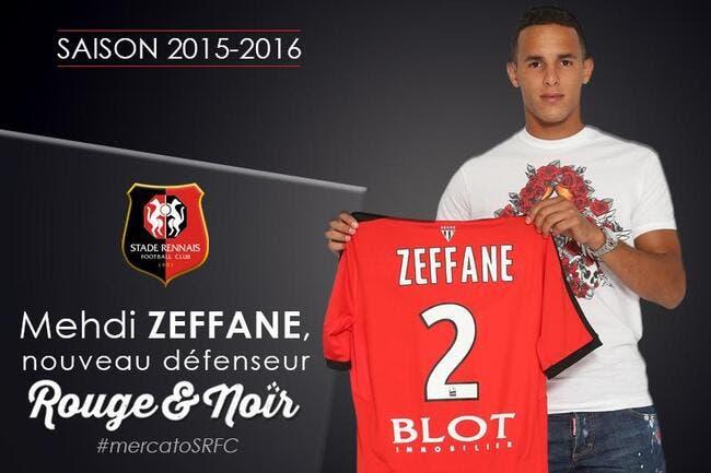 Officiel : Zeffane quitte l'OL et signe 4 ans à Rennes