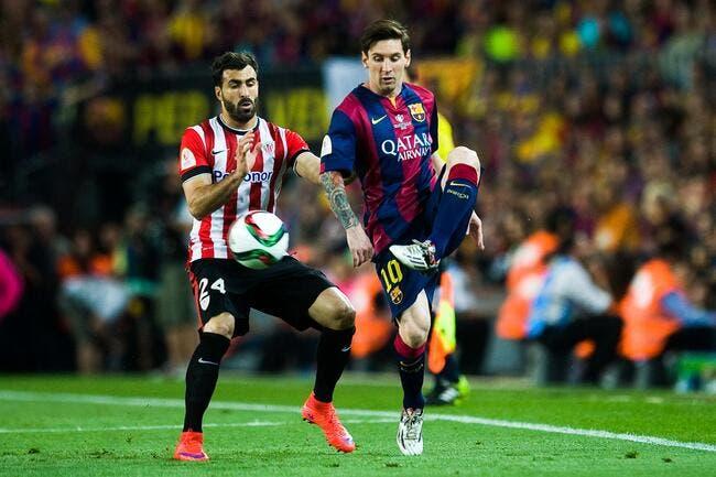 Le Barça prend une déculottée à Bilbao