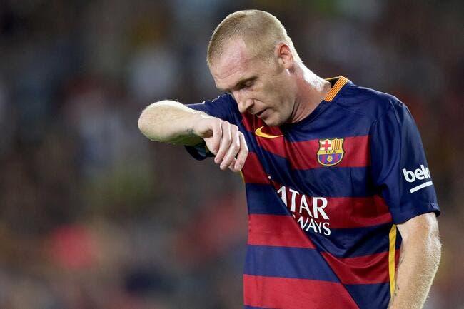 Mathieu paye les pots cassés au Barça