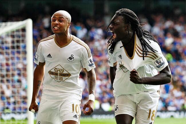 Swansea - Newcastle : 2-0