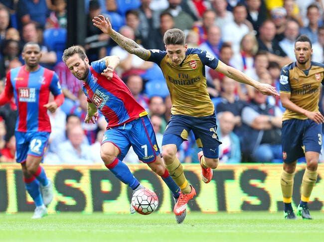 Crystal Palace - Arsenal : 1-2