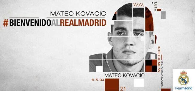 Officiel : Mateo Kovacic signe au Real Madrid