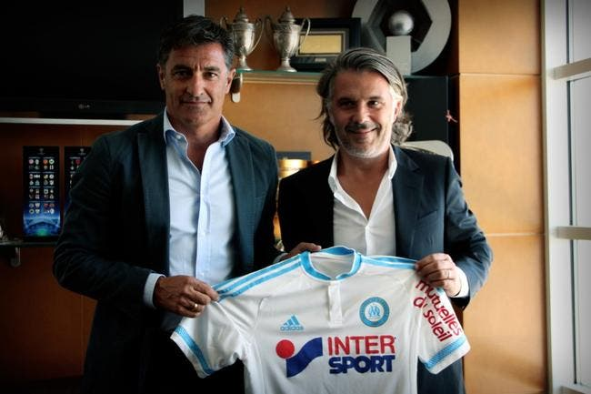 Officiel : Michel entraîneur de l'OM !