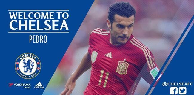 Officiel : Pedro signe à Chelsea pour 27 ME !
