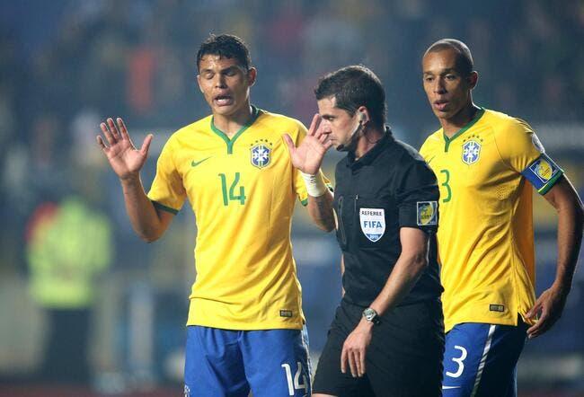 Le Brésil fête la non-sélection de Thiago Silva