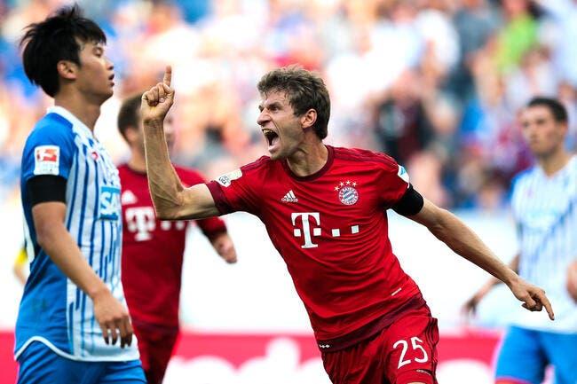 Hoffenheim - Bayern Munich : 1-2