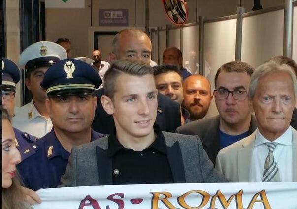 Lucas Digne est arrivé à Rome