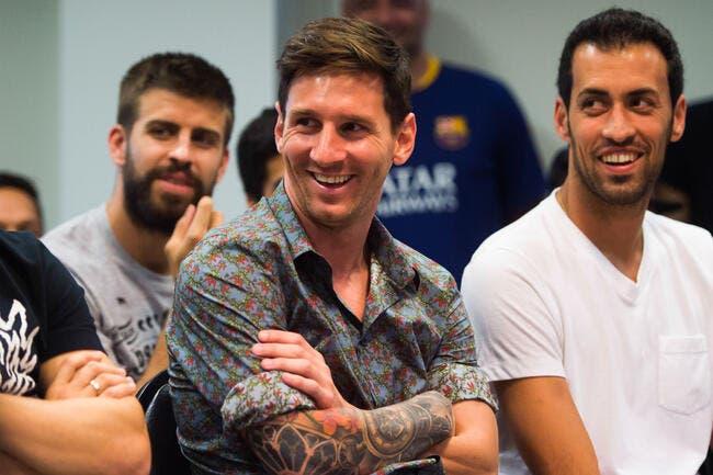 Messi, meilleur joueur d'Europe 2014-15