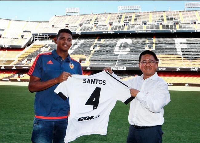Officiel : Santos rejoint Valence pour 7,5 ME