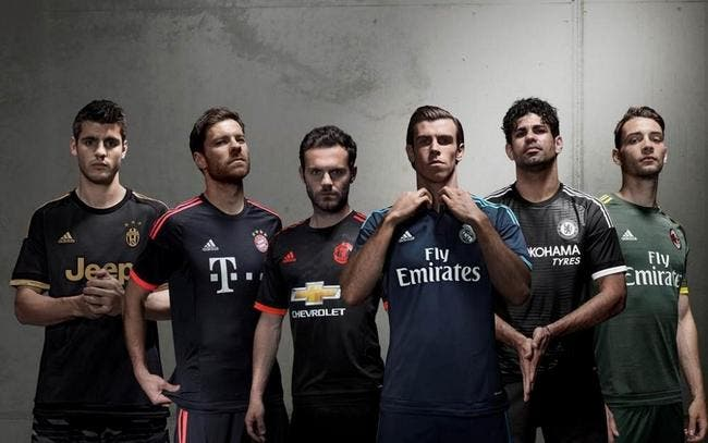 Photo : Real, MU, Chelsea, Bayern, les maillots third dévoilés