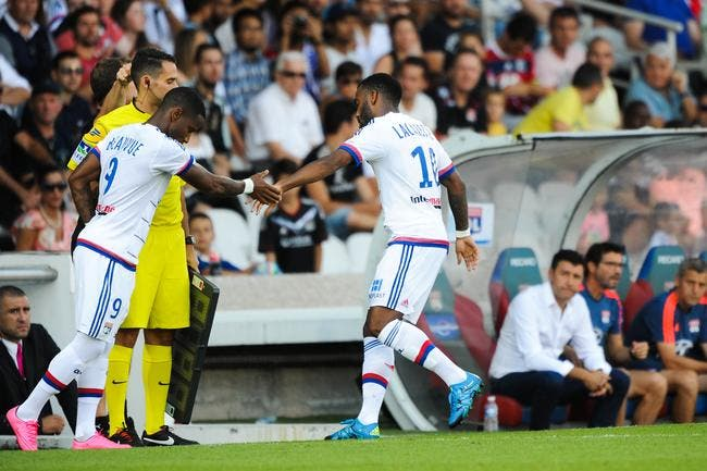 Lacazette, Beauvue, l'OL met la pression !