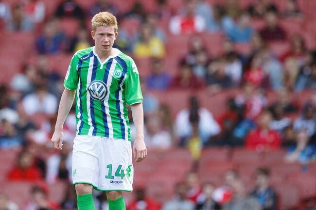 Wolfsburg « impressionné » par l'offre de City pour De Bruyne