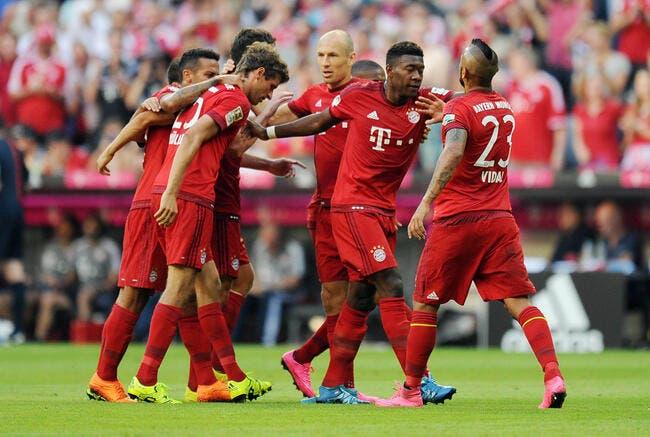 Bayern Munich - Bayer Leverkusen : 3-0