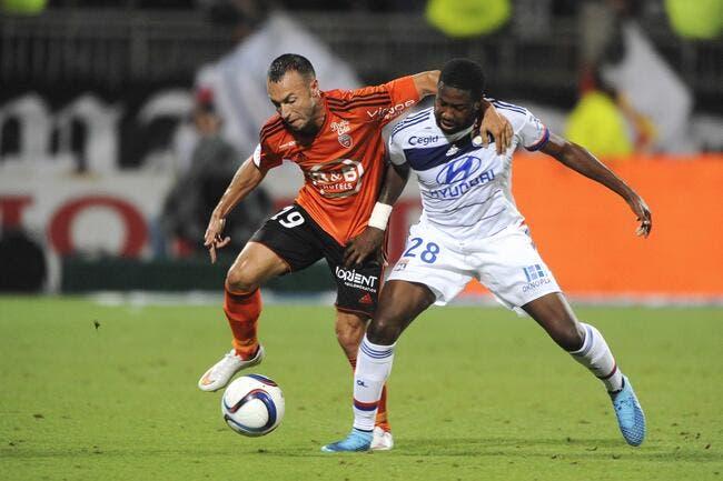 Mvuemba pourrait quitter l'OL pour Lorient