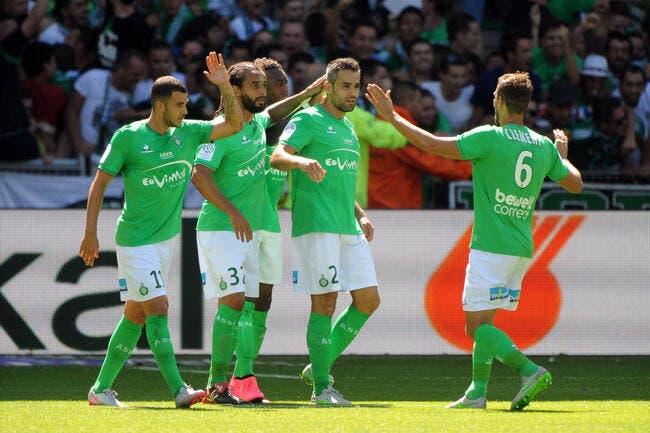 Bastia voit doublement rouge, l'ASSE voit la vie en vert