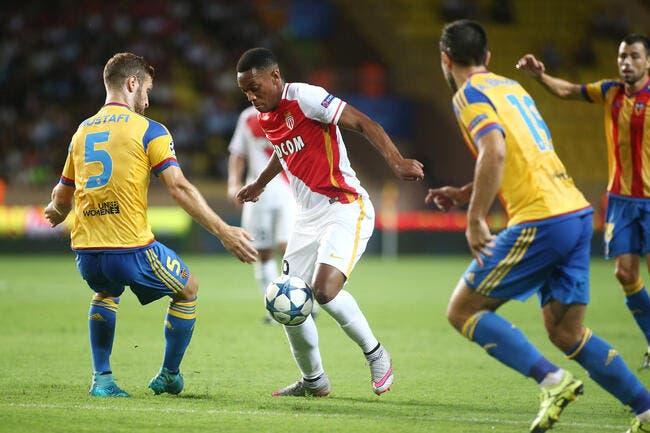 Monaco refuse toutes les offres pour Martial