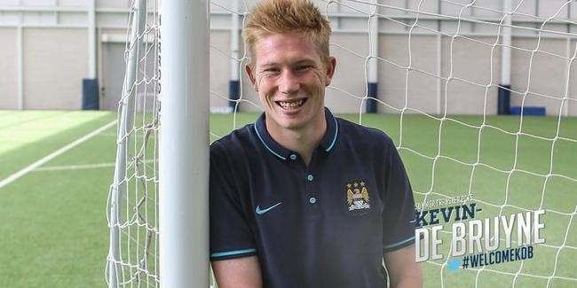 Officiel : De Bruyne signe à Manchester City !