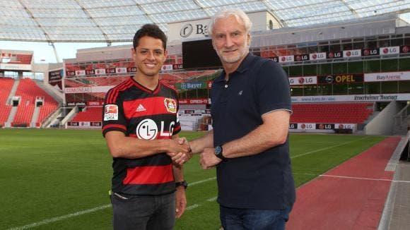 Chicharito quitte Manchester United pour Leverkusen