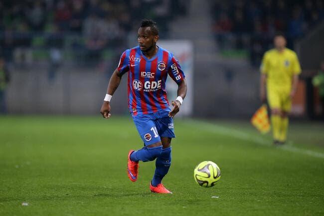 Officiel : Nangis quitte Caen pour Lille